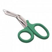 Tesoura para Bandagem Romba/Romba 19cm Verde - MD