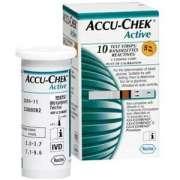 Fita de Glicemia  Accu Check Active (Cx c/50 unds.) - Roche