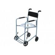 Cadeira de Rodas Higiênica II Cinza 40 cm - CARONE