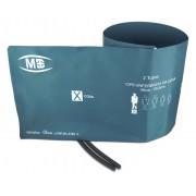 Braçadeira Peça Única Livre de Látex 2 Tubo Coxa - MD