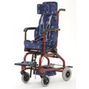 Cadeira de rodas Alumínio Star Baby 30 cm - BAXMANN E JAGUARIBE