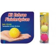 Kit Esferas Fisioterápicas 02 Unidades- Ref. FG-04- Ortho Pauher