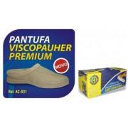 Pantufa Ortopédica ViscoPauher Premium Bege P Ref. AC031 ? Ortho Pauher