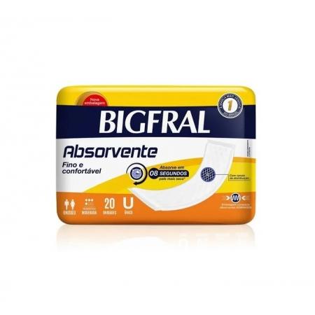 ABSORVENTE GERIÁTRICO BIGMAXI TAMANHO G (C/20) - BIGFRAL