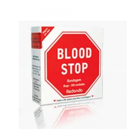 BANDAGEM BLOOD STOP CONTÍNUO 200 BEGE (C/200) - AMP
