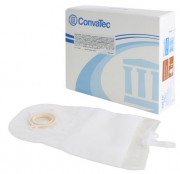 Bolsa de Urostomia Sur-fit Plus 2 Peças Anti-Refluxo Transparente 38mm Und. 402549 - CONVATEC