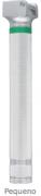 Cabo em Metal para Laringoscópio LED 2W Fibra Óptica  Pequeno  Tipo AA - MD