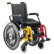 Cadeira de Rodas Alumínio Ágile Infantil  - BAXMANN E JAGUARIBE