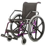Cadeira de rodas Alumínio Free - BAXMANN E JAGUARIBE