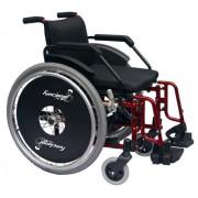 Cadeira de Rodas Alumínio Funcional Adulto 42cm - BAXMANN E JAGUARIBE
