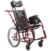 Cadeira de rodas Star Adulto 44cm - BAXMANN E JAGUARIBE