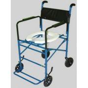 Cadeira de Rodas Taíba Pneu Inflável 44cm Azul - CARONE