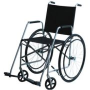 Cadeira de Rodas Taíba Pneu Inflável 44cm Preta - CARONE
