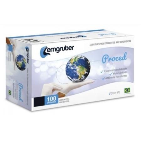 LUVA DE PROCEDIMENTO LATEX P (CX C/100 UNDS) - LEMGRUBER