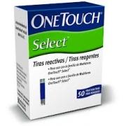 TIRAS DE GLICEMIA ONETOUCH SELECT SIMPLES (C/50 UNDS) - JONHSON & JONHSON
