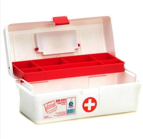 Maleta de Primeiros Socorros - EM - 250  - Shopping Prosaúde