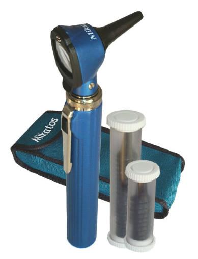 Otoscópio Mini Azul - Mikatos