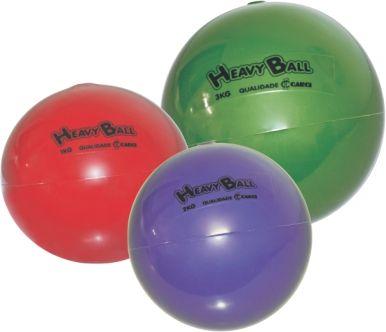 Bola para Exercício de Ginástica Heavy Ball 500g BP 0.500 - CARCI