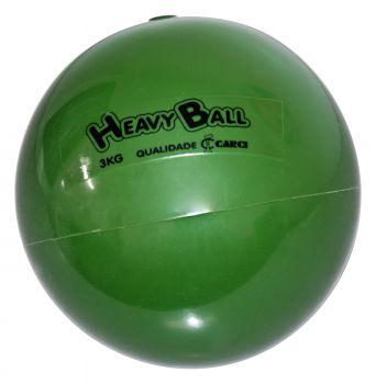 Bola para Exercício de Ginástica Heavy Ball 3 kg BP 03 - CARCI  - Shopping Prosaúde