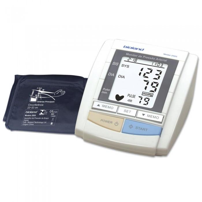 Aparelho de Pressão Digital de Braço Automático 2005 - BIOLAND  - Shopping Prosaúde