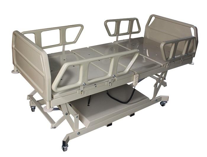 Cama motorizada Fawler 4 motores - (Com cabeceira e lateral de fibra) Ref. CS0116 - Santa Clara  - Shopping Prosaúde
