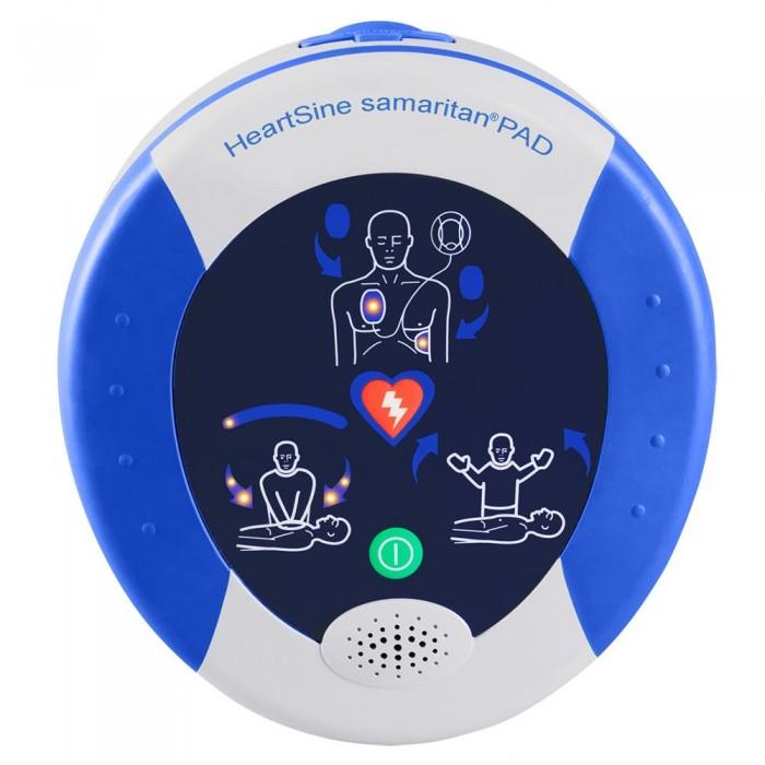 Desfibrilador Externo Automático Samaritan Pad com Estojo e Cartucho Adulto Heartsine  -  Macrosul  - Shopping Prosaúde