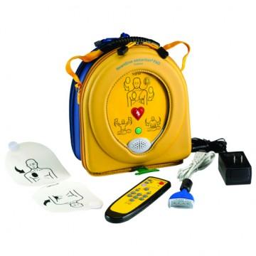 Desfibrilador Simulador Samaritan Trainer com ( Estojo,Eletrodos,Bateria,Controle Remoto) - HeartSine  - Shopping Prosaúde