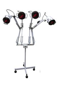 Luminária Com Lâmpadas De Infravermelho 4 Braços 220v PA0585 ? Estek