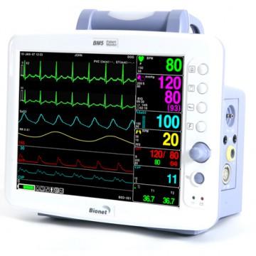 Monitor de Sinais Vitais BM5  - BIONET  - Shopping Prosaúde