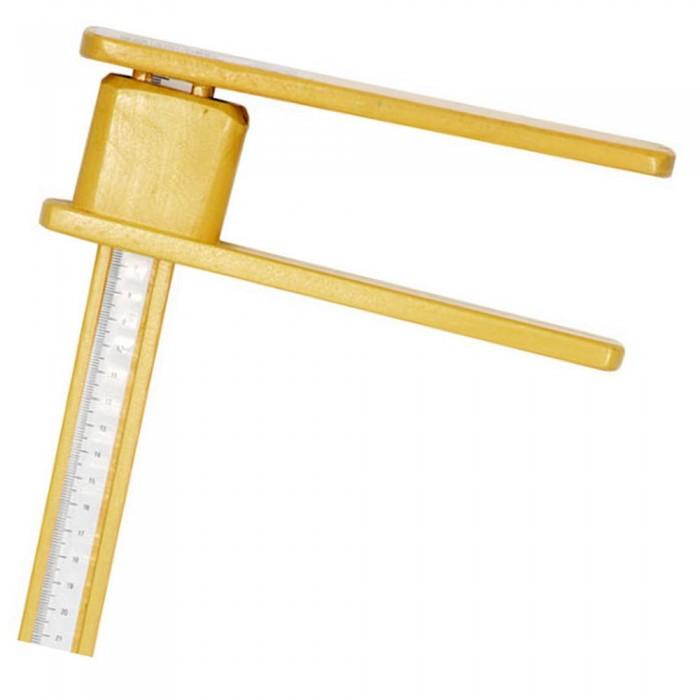 Régua Antropometrica em Madeira Estadiômetro 100cm R1M - Indaiá