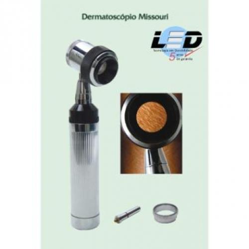 Dermatoscopio Missouri REF.500/LED ? Mikatos  - Shopping Prosaúde