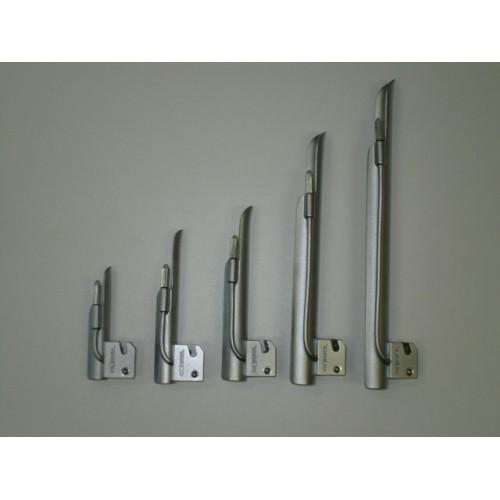 Lâmina para Laringoscópio Reta Nº0 Latão Cromado 7cm Convencional 7-701-5016 - OXIGEL  - Shopping Prosaúde