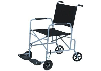 Cadeira de Rodas Seridó (Nylon) Cinza 42 cm - CARONE  - Shopping Prosaúde