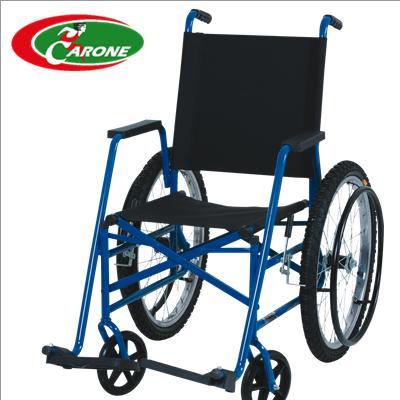 Cadeiras de Rodas Tabuba Vinho 37 cm - CARONE  - SP