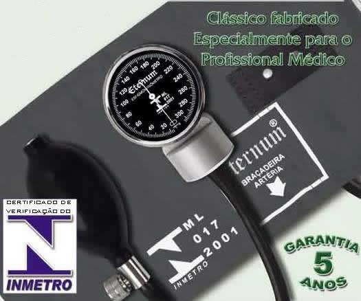 Aparelho de Pressão Arterial Eternum Fecho Velcro Nylon Adulto Obeso - Mikatos  - Shopping Prosaúde