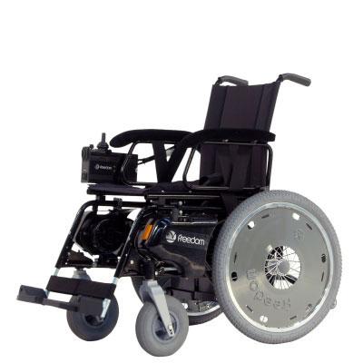 Cadeira de Rodas Motorizada Freedom S (RD8i-RT20i) - FRETE GRÁTIS PARA TODO BRASIL (SOMENTE CAPITAIS)  - SP