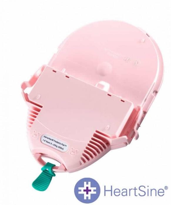 Cartucho (eletrodos com bateria) PadPak Pediátrico  HeartSine - Macrosul  - Shopping Prosaúde