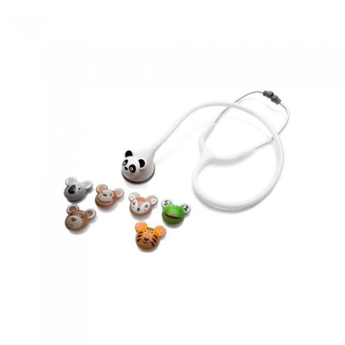 Estetoscópio Master Lite Pediátrico Fun Animal Branco - Spirit