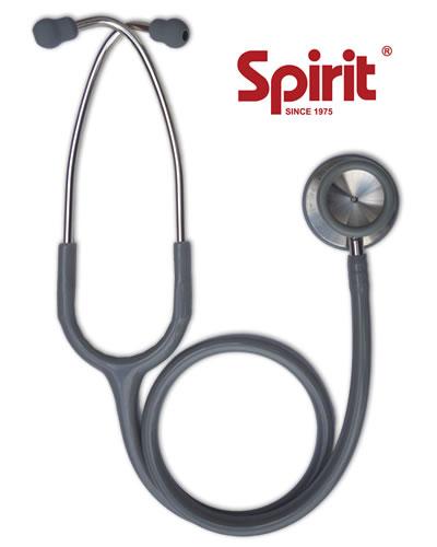 Estetoscópio Professional Adulto Cinza - Spirit