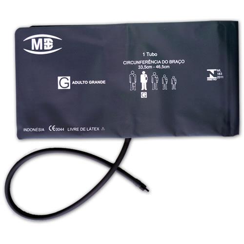 Braçadeira Peça Única Livre de Látex 1 Tubo Adulto Grande -  MD