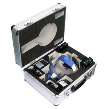 Fotóforo LED 5W Estojo Luxo em Alumínio e Bateria Recarregável  - Macrosul
