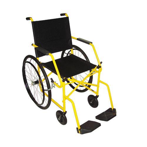 Cadeira de Rodas Taíba Pneu Inflável 44cm Verde - CARONE  - Shopping Prosaúde