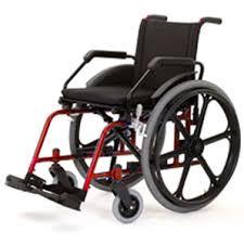 Cadeiras de rodas Alumínio Light 44cm - BAXMANN E JAGUARIBE  - Shopping Prosaúde