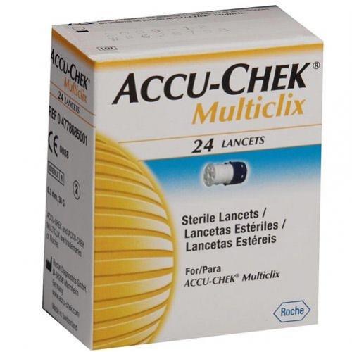 Accu-Chek Multiclix Lanc. 24 - Roche  - Shopping Prosaúde