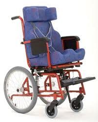 Cadeira de rodas Star Kids 40 cm - BAXMANN E JAGUARIBE  - Shopping Prosaúde