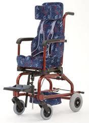 Cadeira de rodas Alumínio Star Baby 30 cm - BAXMANN E JAGUARIBE  - Shopping Prosaúde