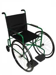 Cadeira de rodas Caiçara  Pneu Maciço 41 cm - CARONE  - Shopping Prosaúde