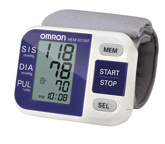 Aparelho de Pressão Digital de Pulso Automático HEM-631 INT - Omron  - SP
