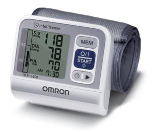 Aparelho de Pressão Digital de Pulso Automático HEM-6200 - Omron  - SP