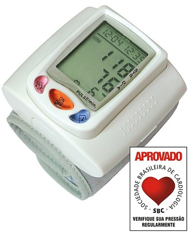 Aparelho de Pressão Digital de Pulso Automático 3001 - Bioland  - Shopping Prosaúde